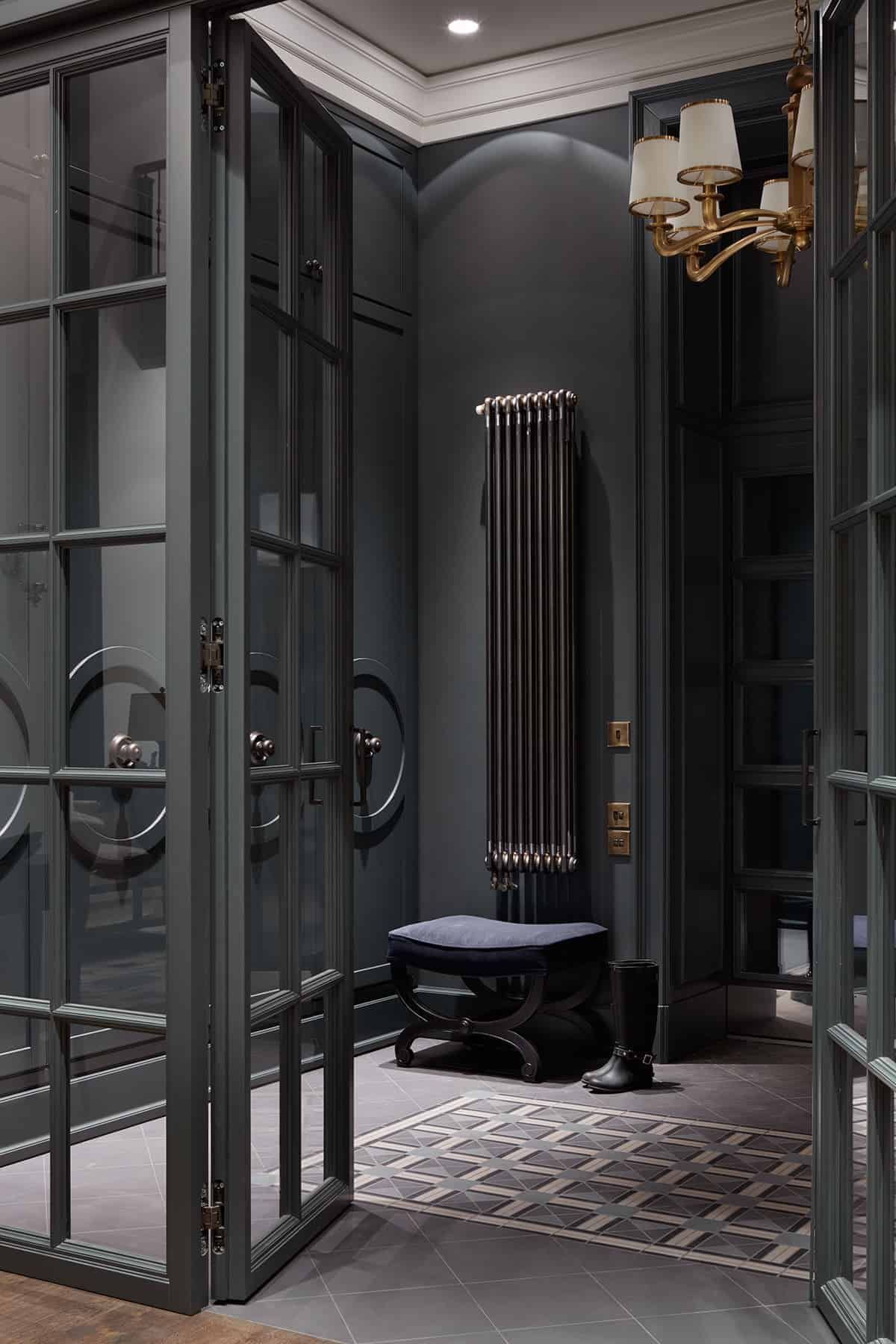 50 Traditional Style Foyer Ideas (Photos) #darkwalls