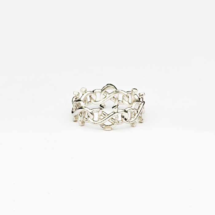 Equestrian Infinite Luck Ring