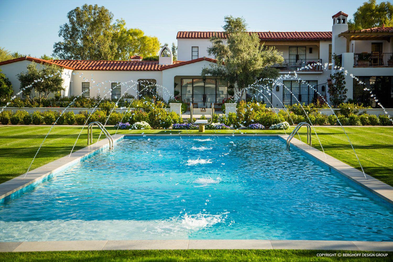 Berghoff Design | Limestone patio, Indoor outdoor living ... on Bade Outdoor Living id=20565