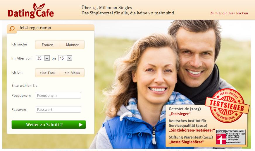 Dating-Site für ältere Singles