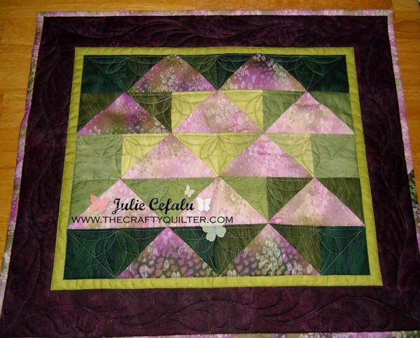 One-seam Flying Geese - The Crafty Quilter For #ModaSamplerShuffle