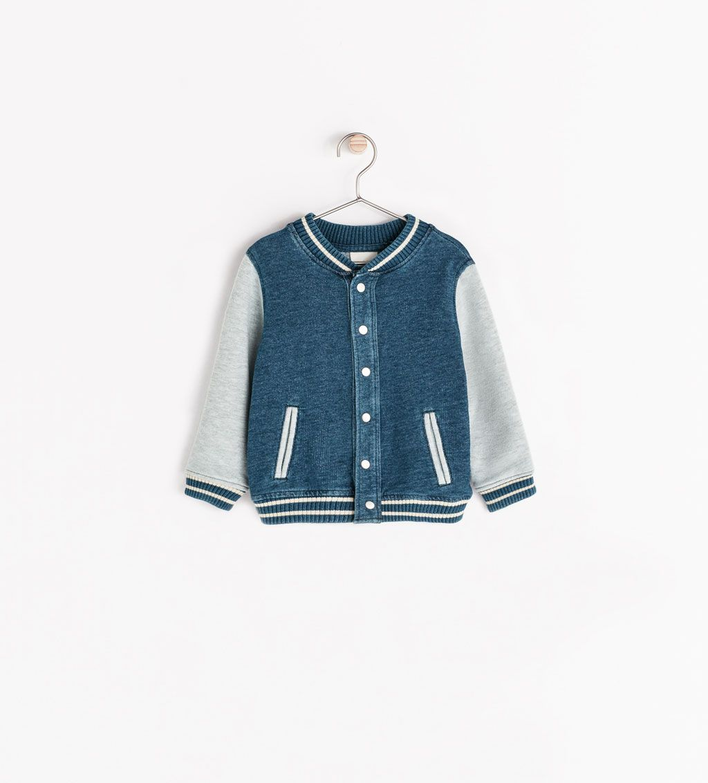 c2db66423 Image 1 of BOMBER JACKET from Zara