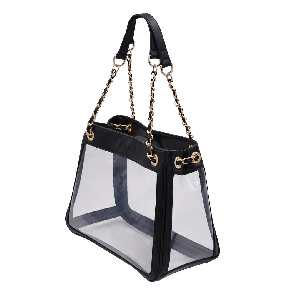 d5408d08a29b The Bare Boss | Classic Black in 2019 | Handbags | Clear tote bags ...