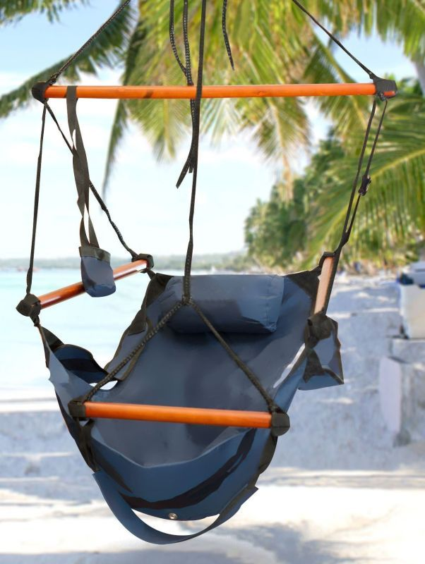 This comfortable hammock is built to last for years. Perfect for indoor or outdoor use.  sc 1 st  Pinterest : air chair hammock - Cheerinfomania.Com