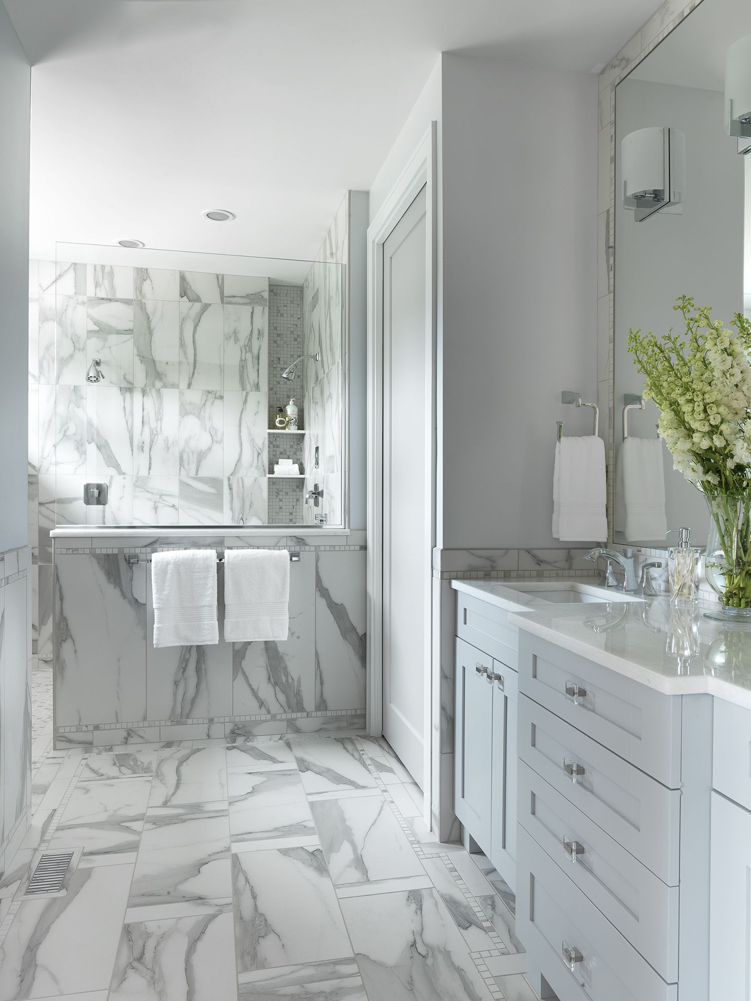 New Design Bathrooms Entrancing New Build Master Bathroom Photo Credit Alise O'brien  Marcia Decorating Inspiration