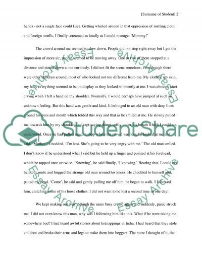 The Day I Got Lost Essay Example Sample Edward Said State