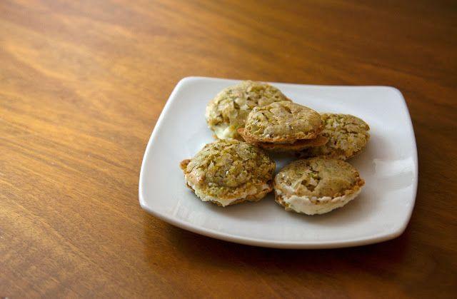 Homemade Pistachio Macarons