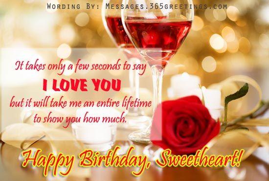 Romantic Birthday Wishes Facebook Birthday Wishes For Girlfriend