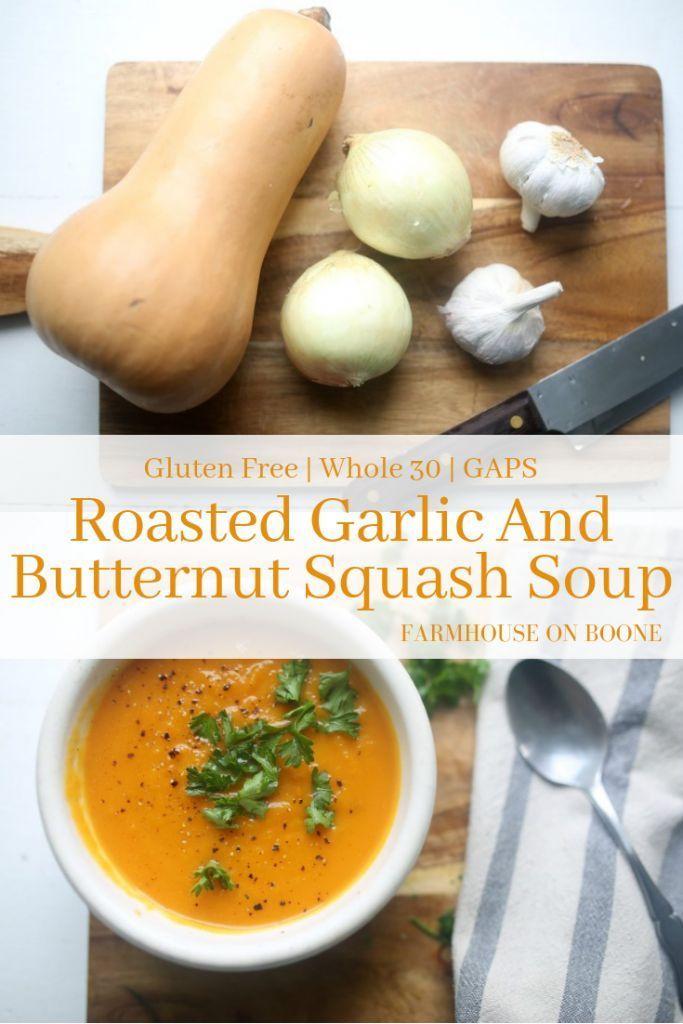 Roasted Butternut Squash Soup - Farmhouse on Boone