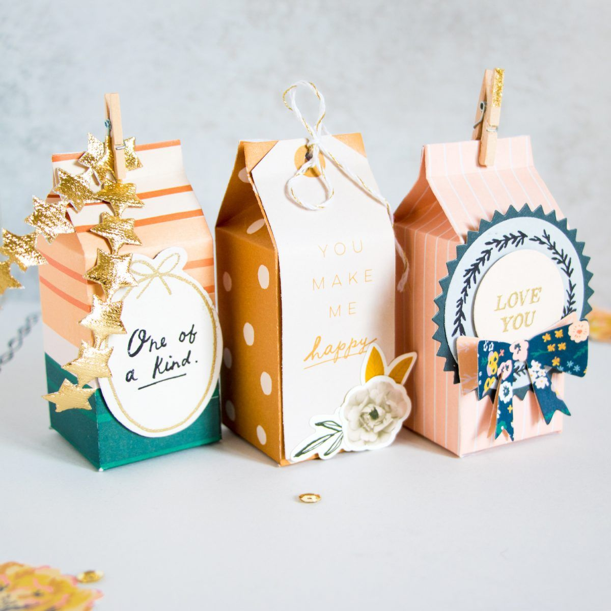 Cute diy gift boxes easy diy gifts gift wrapping diy