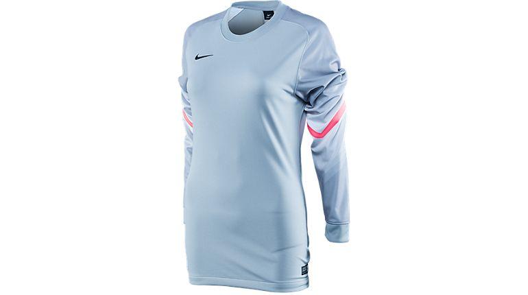 Nike Goleiro Women s Keeper Jersey Matte Silver Nike Soccer Ball 45a890915