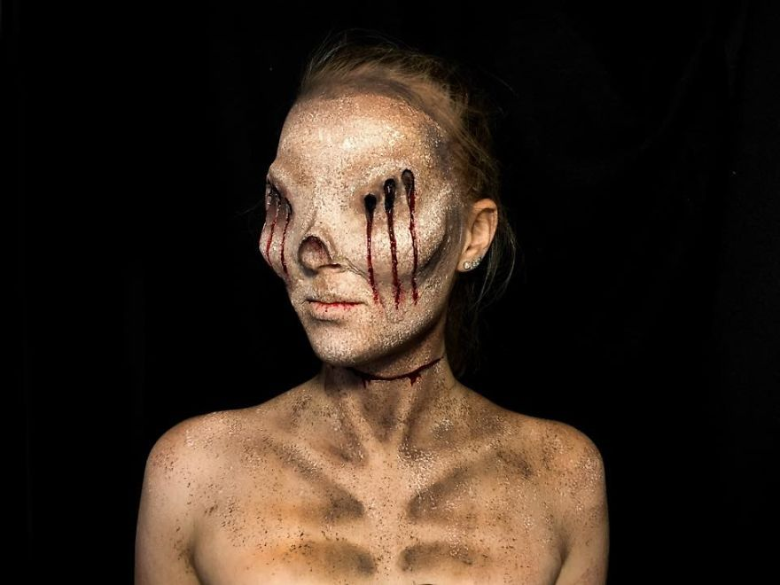 Best 20+ Monster makeup ideas on Pinterest   Awesome halloween ...