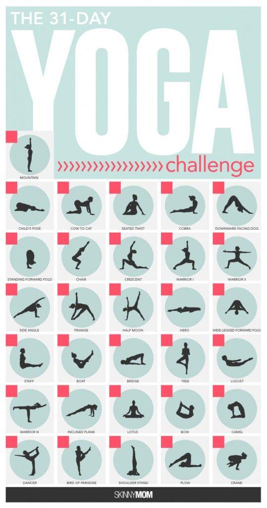 Yoga Challenge Week 1