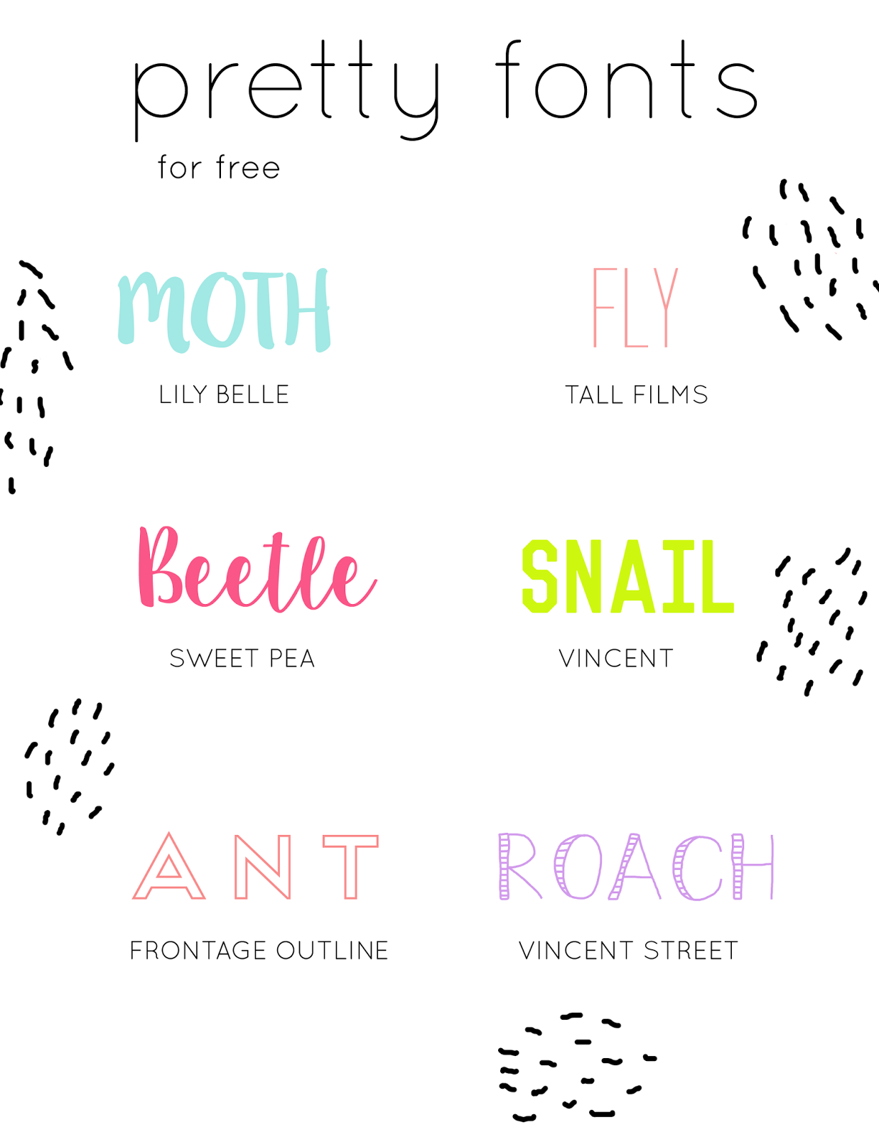 Pretty Fonts, Beautiful Fonts, Chalk Fonts, Calligraphy Fonts, Script Fonts, Commercial