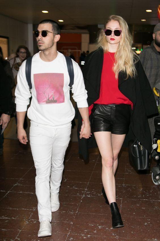 Sophie Turner és Joe Jonas párosa nagyon cuki! Lájk, ha Ti is kedvelitek őket!