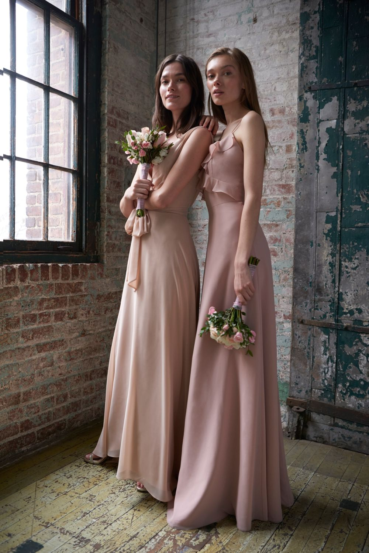 Monique Lhuillier Bridesmaid Dresses Spring 2020 Collection Dress For The Wedding Blush Bridesmaid Dresses Spring Bridesmaid Dresses Beige Bridesmaid Dress [ 1498 x 1000 Pixel ]