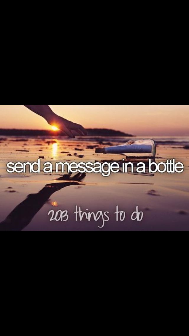 I want to do this, but I don't want to pollute the ocean. I bet they sell environmentally safe bottles though