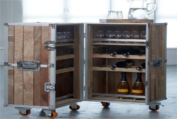 Mobile Bar Designs | Portable Wooden Bar Designs And Plans; Teak, Cherry :  Commercial