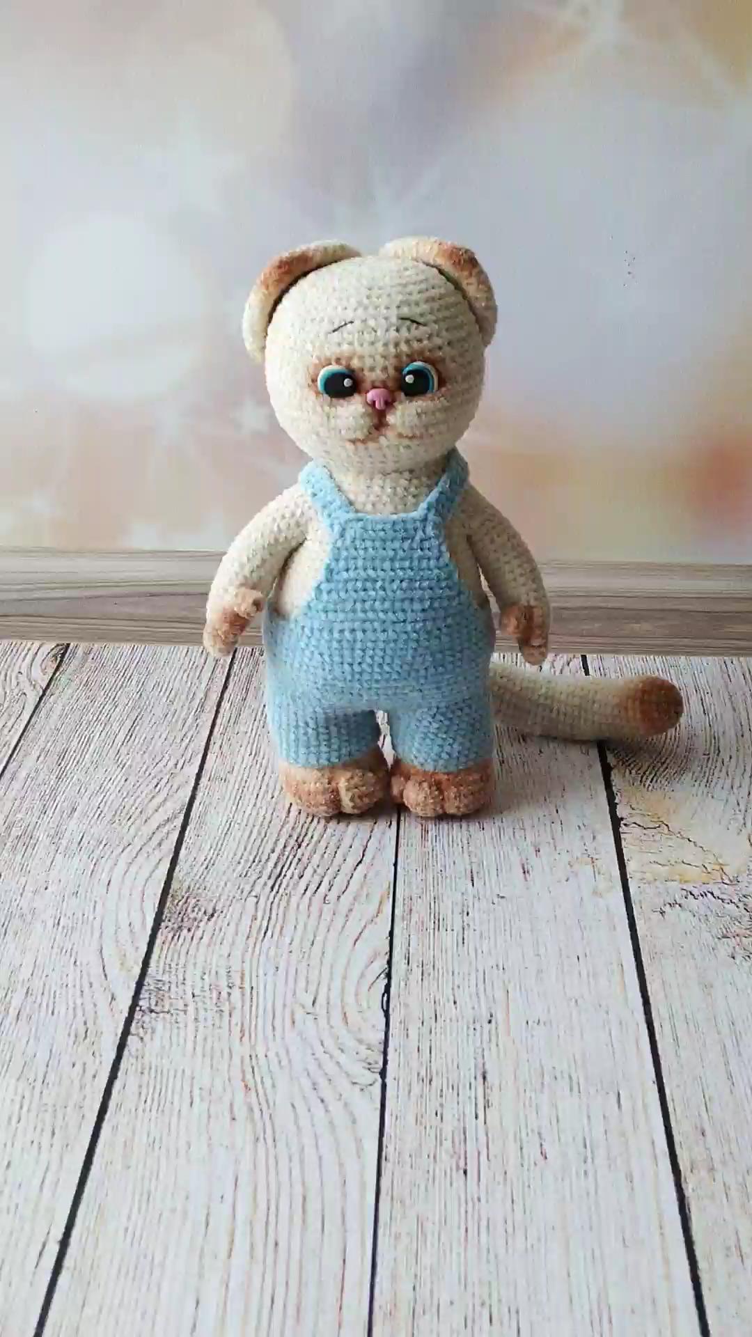 Photo of Amigurumi cat pattern / crochet kitty pattern / crochet animals / valentines day gifts