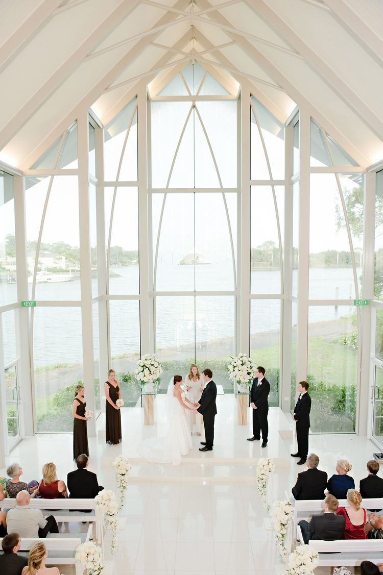 Beautiful Wedding Ceremony Location Copyright Silveredge Photography Brisbane Photographers