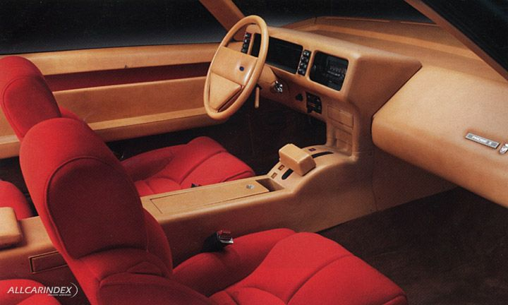 1979 Ford Probe I Concept By Ghia