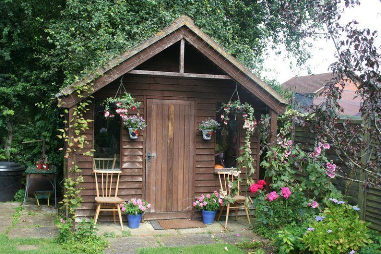 Pin auf Gartenhütte Gartenhaus