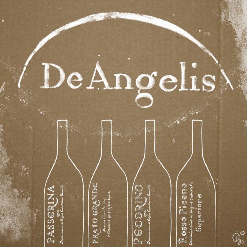 www.wijnkraam.nl - Wijnhuis Tenuta De Angelis, opgericht in 1950, is gelegen in Castel di Lama. Een plaatsje in de wijnregio De Marken, vlakbij de Adriatische zee in het oosten van Italië. Wijnmaker Quinto Fausti maakt fantastische wijnen met een uitstekende prijs-kwaliteit verhouding, welke qua kwaliteit en karakter gemakkelijk kunnen concurreren met de duurdere Toscaanse soortgenoten.