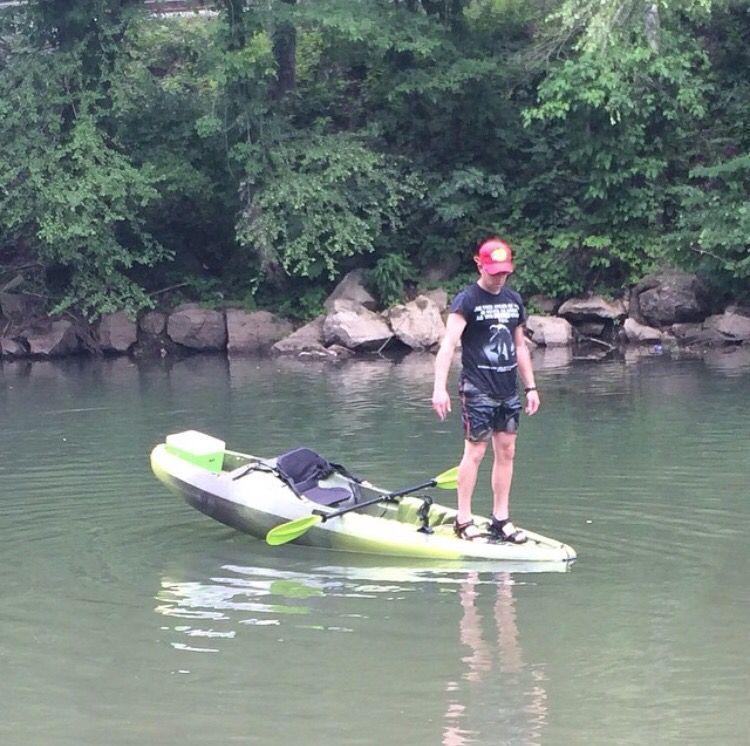 Perception striker 11.5 kayak stability Kayaking, Canoe