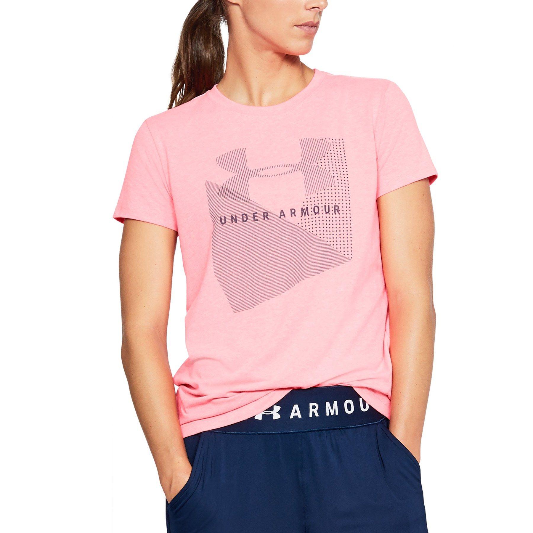 17646f38a Women's Under Armour Sportstyle Logo Crew Graphic Tee #Sportstyle, #Armour,  #Women, #Logo