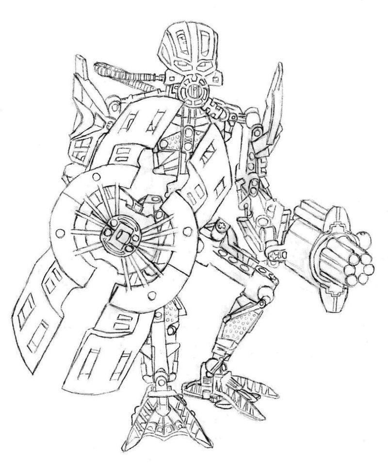 лего роботы раскраска след обидчику