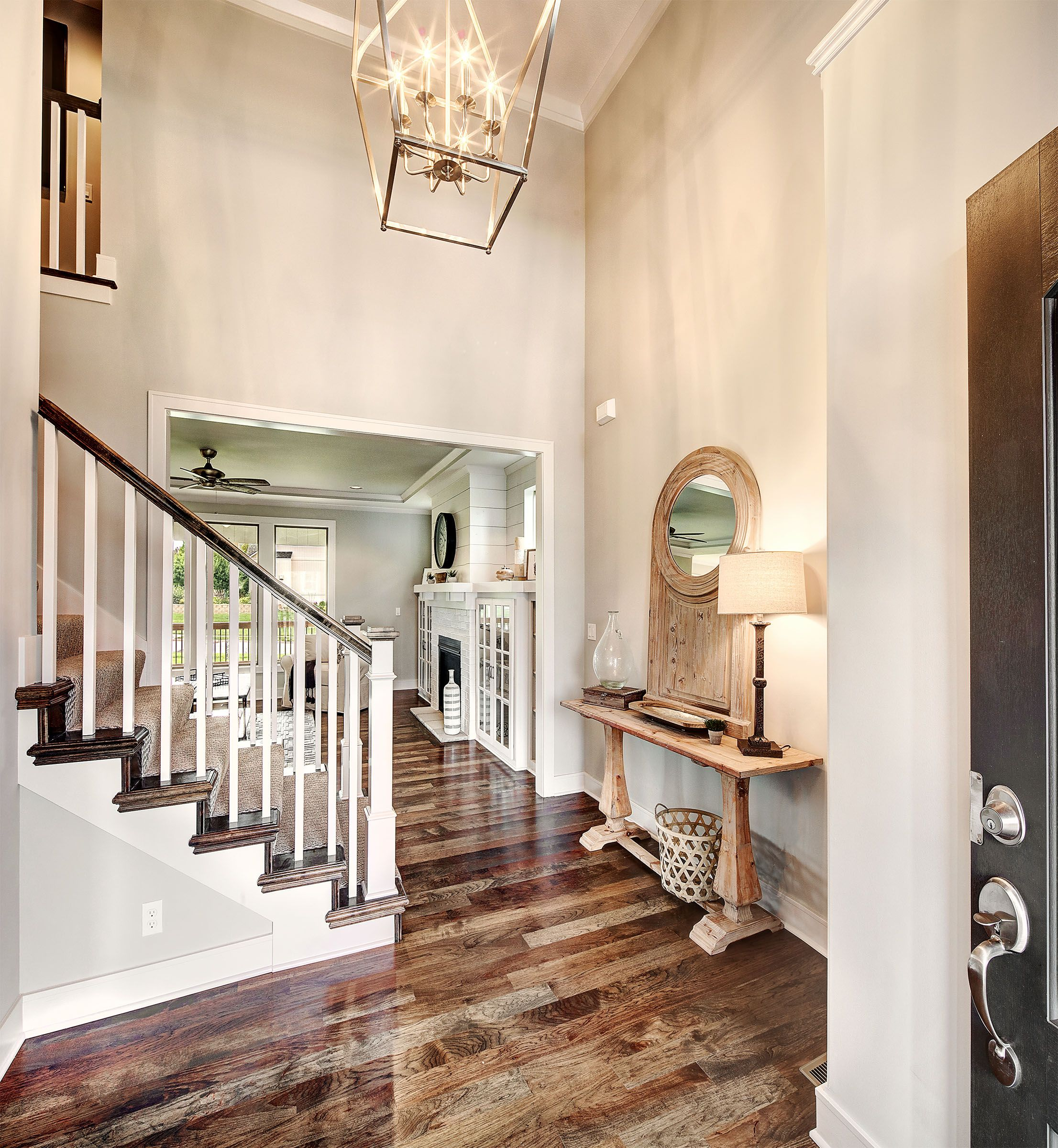Impressive Stairs Pictures 2 Wood Stair Design Ideas: I Available New Homes Johnson County, KS