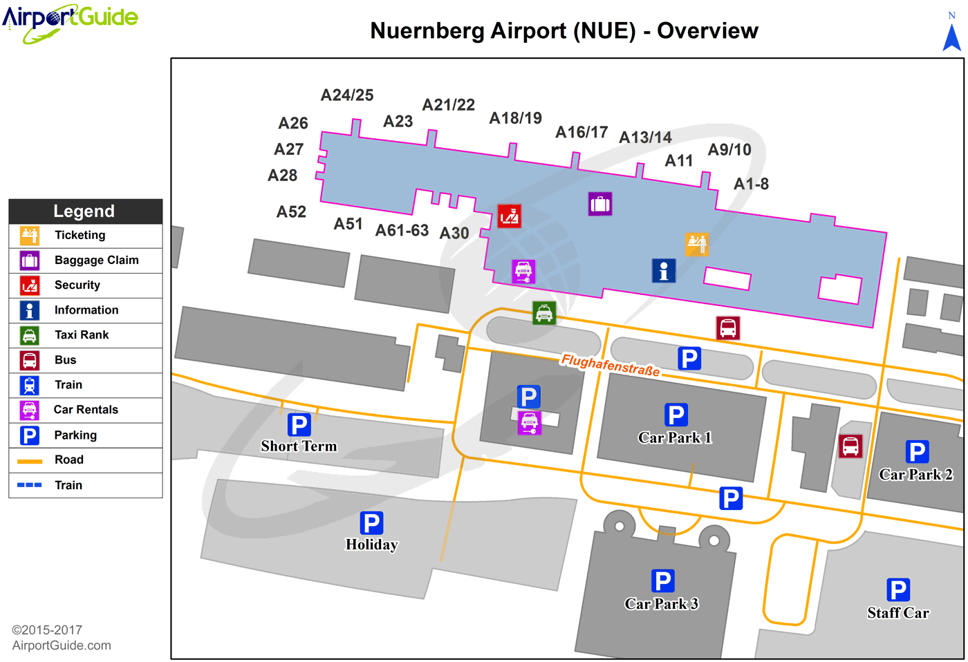 Pin On Airport Terminal Maps Airportguide Com