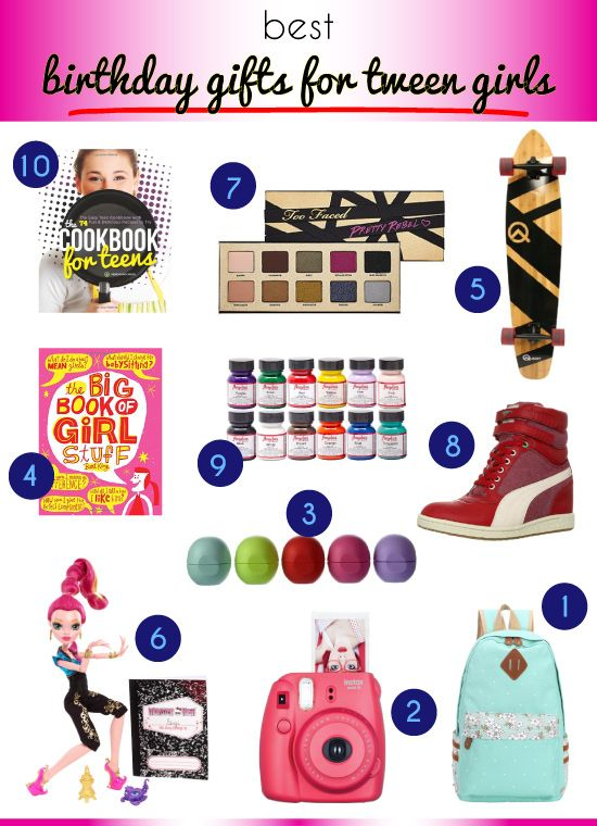 Best Birthday Gifts For Tween Girls Weekend
