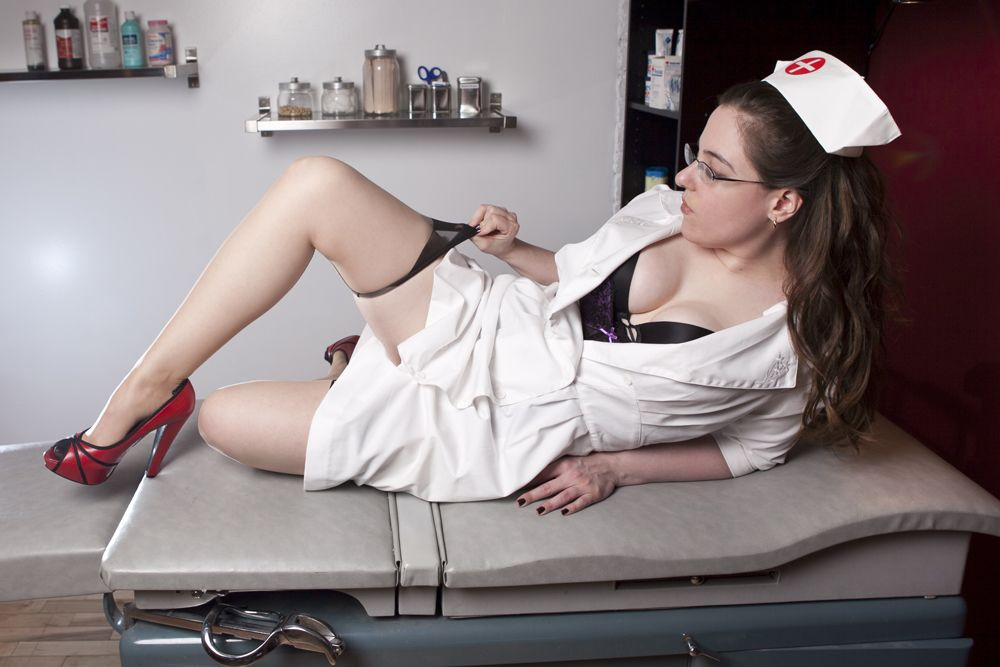 Examination fetish nurse
