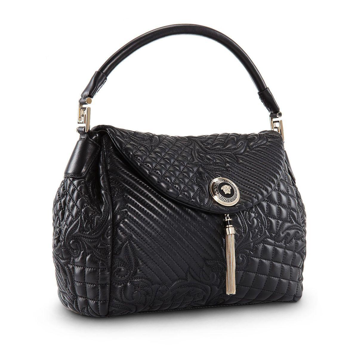 710be1d76c7a Tactile beauty -  Versace Vanitas Talia quilted nappa handbag. Find more  here  versace.com  VersaceVanitasBag