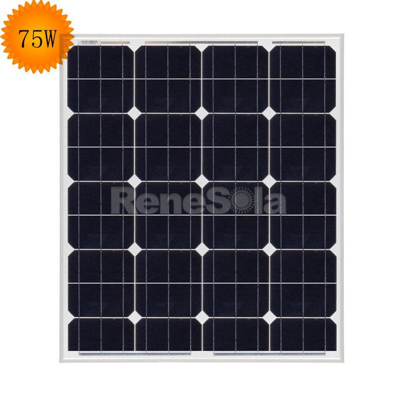 QXPV 75W Monocrystalline Solar Panels,China - ReneSola - Green Energy Products