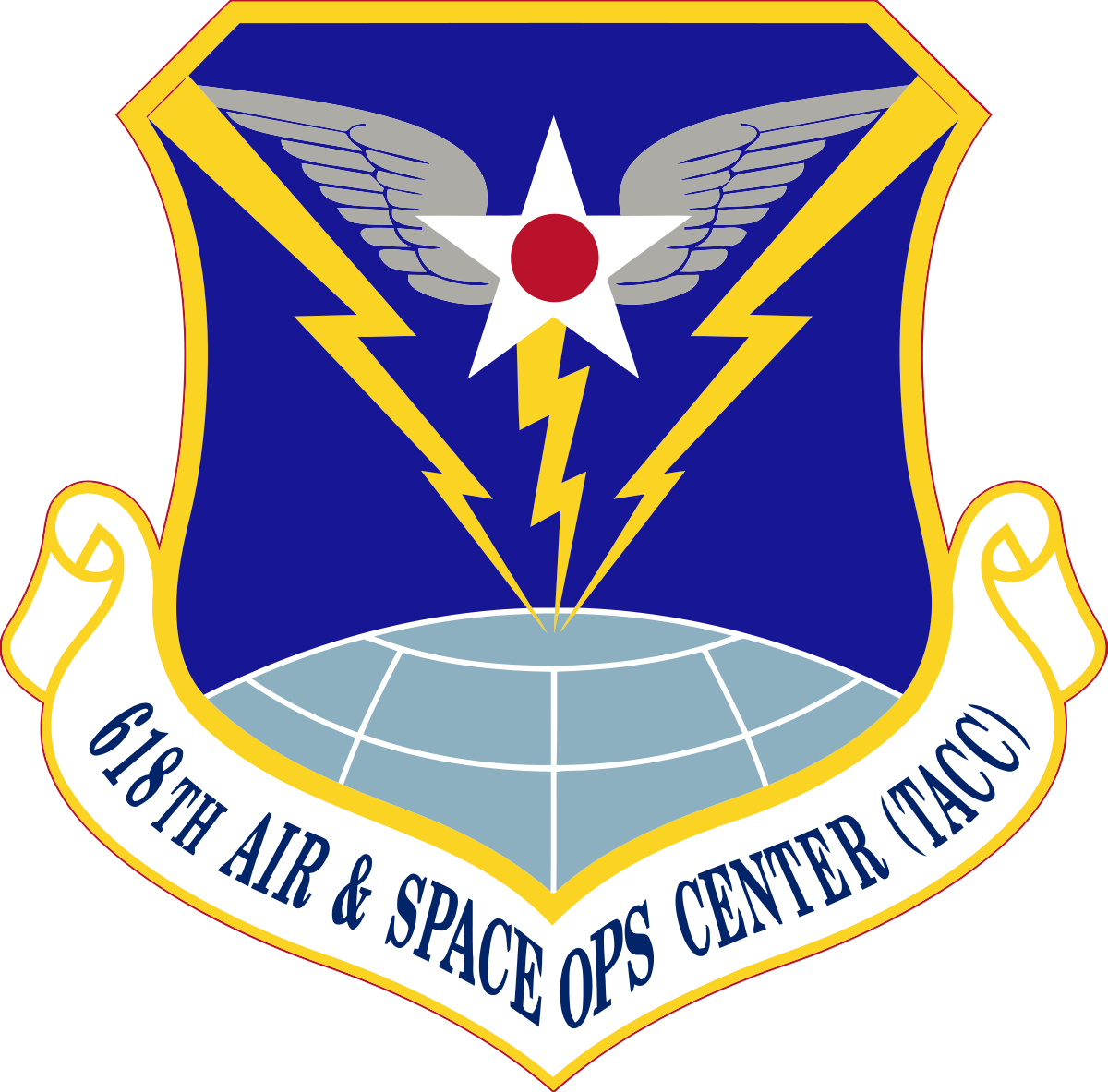 618th Air And Space Operations Center Tanker Airlift Control Center Wikipedia Air Force Military Patch Military Units