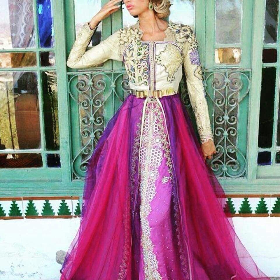 Moroccan caftan .. Dress style