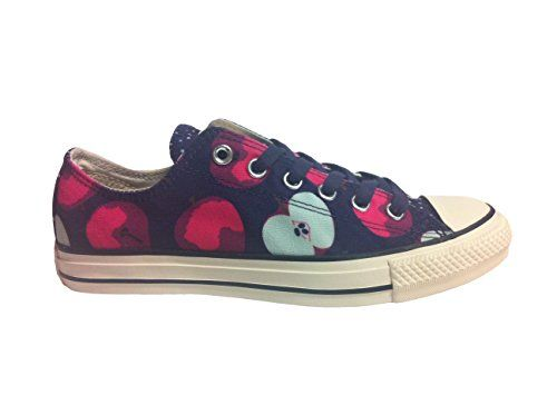 271d72b2aac2 CONVERSE Chuck Taylor All Star Apple Print Ox Fashion Sneaker Shoe -  Eggplant Neo Pink - Womens - 9.5