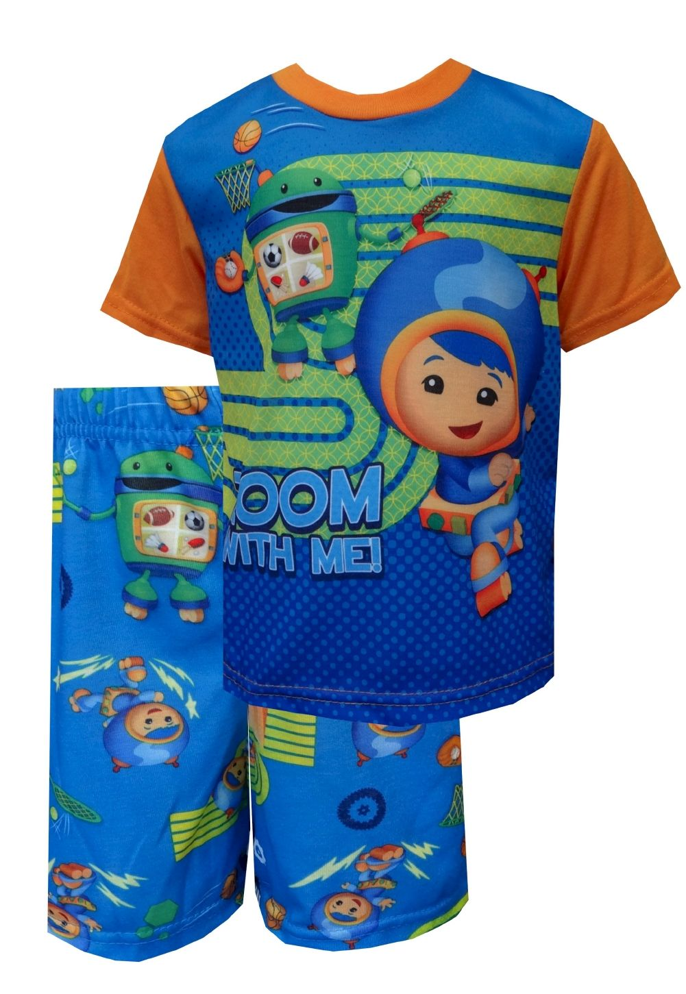 Nickelodeon Team Umizoomi Zoom With Me Toddler Pajamas One, two ...
