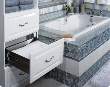 Beautiful Bathroom Warming Drawers Create That Fresh From The Dryer Feel