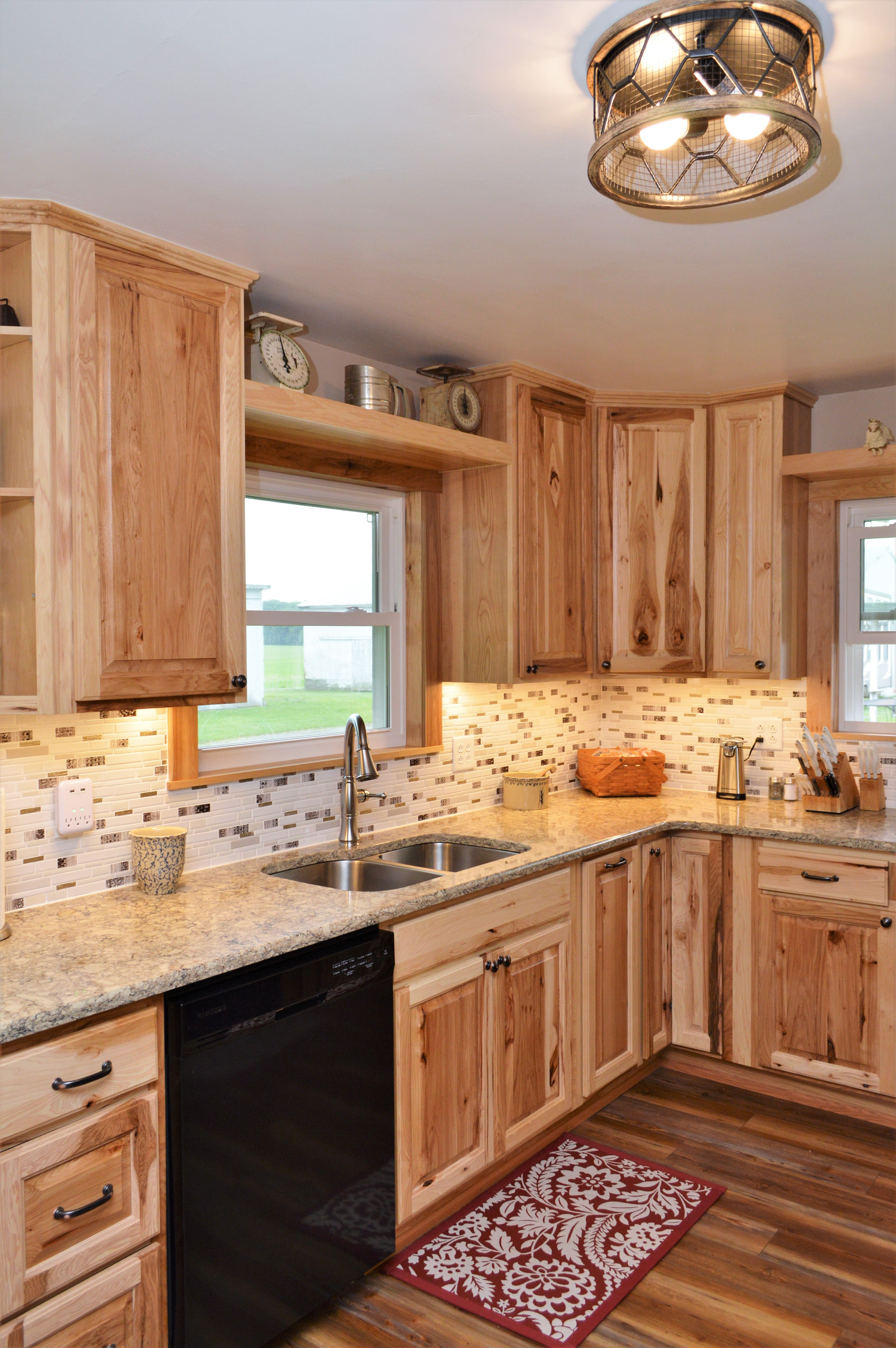 Haas Signature Collection, Rustic Hickory, Natural finish ...