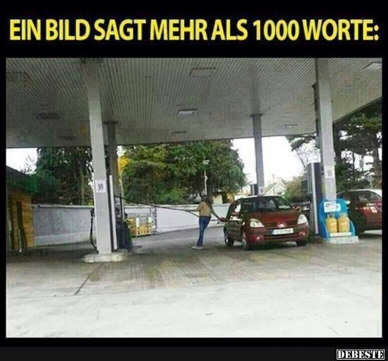 Ein Bild sagt mehr als 1000 Worte | DEBESTE.de, Lustige ...
