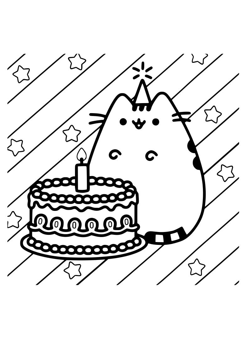 Dibujo Gato Tarta Kawaii Dibujos Kawaii Para Imprimir Garabatos Kawaii Dibujos Kawaii
