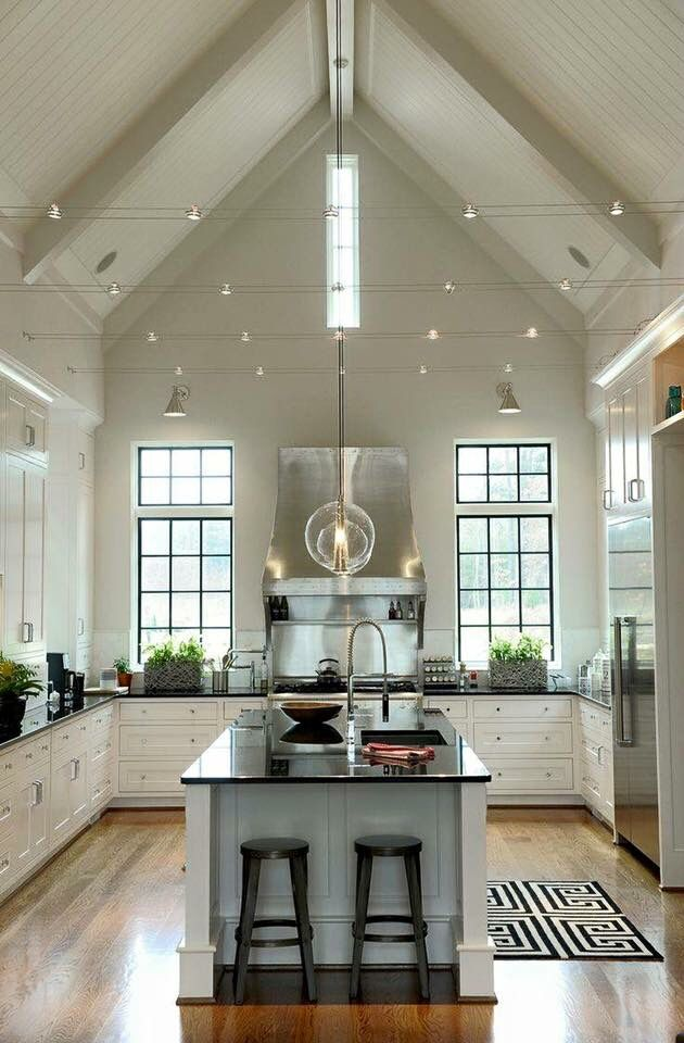Un sogno House ideas Pinterest Casas, Cocinas y Interiores - Techos Interiores Con Luces