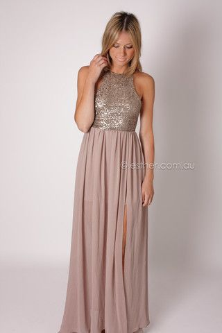 star dust maxi - taupe so dope! love the racer back! its sold out tho :( wonder where i can find it i want it so bad!
