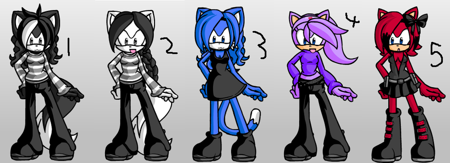 Adoptable sheet by Sonicthevampire411 Sketches