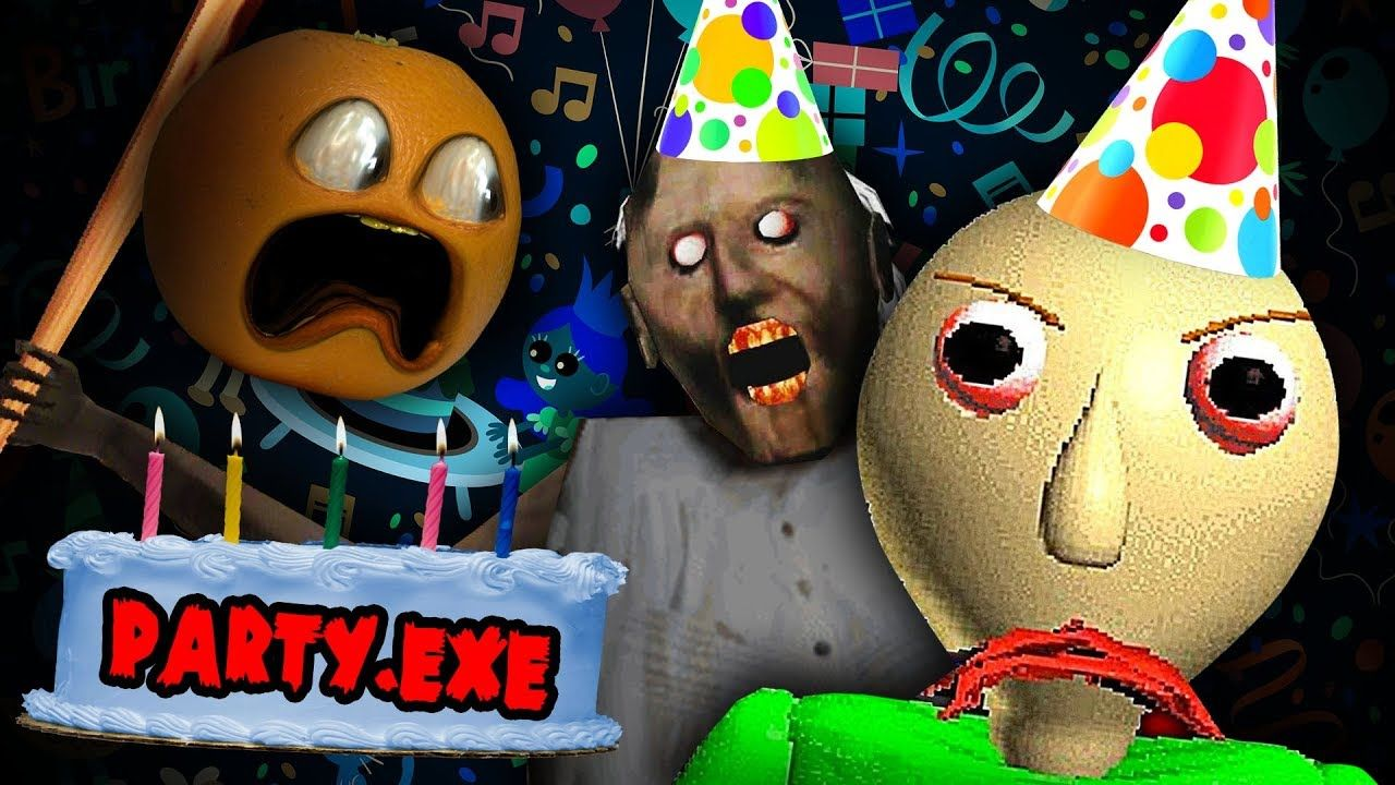 Baldi And Granny Throw The Worst Parties Party Exe Roblox