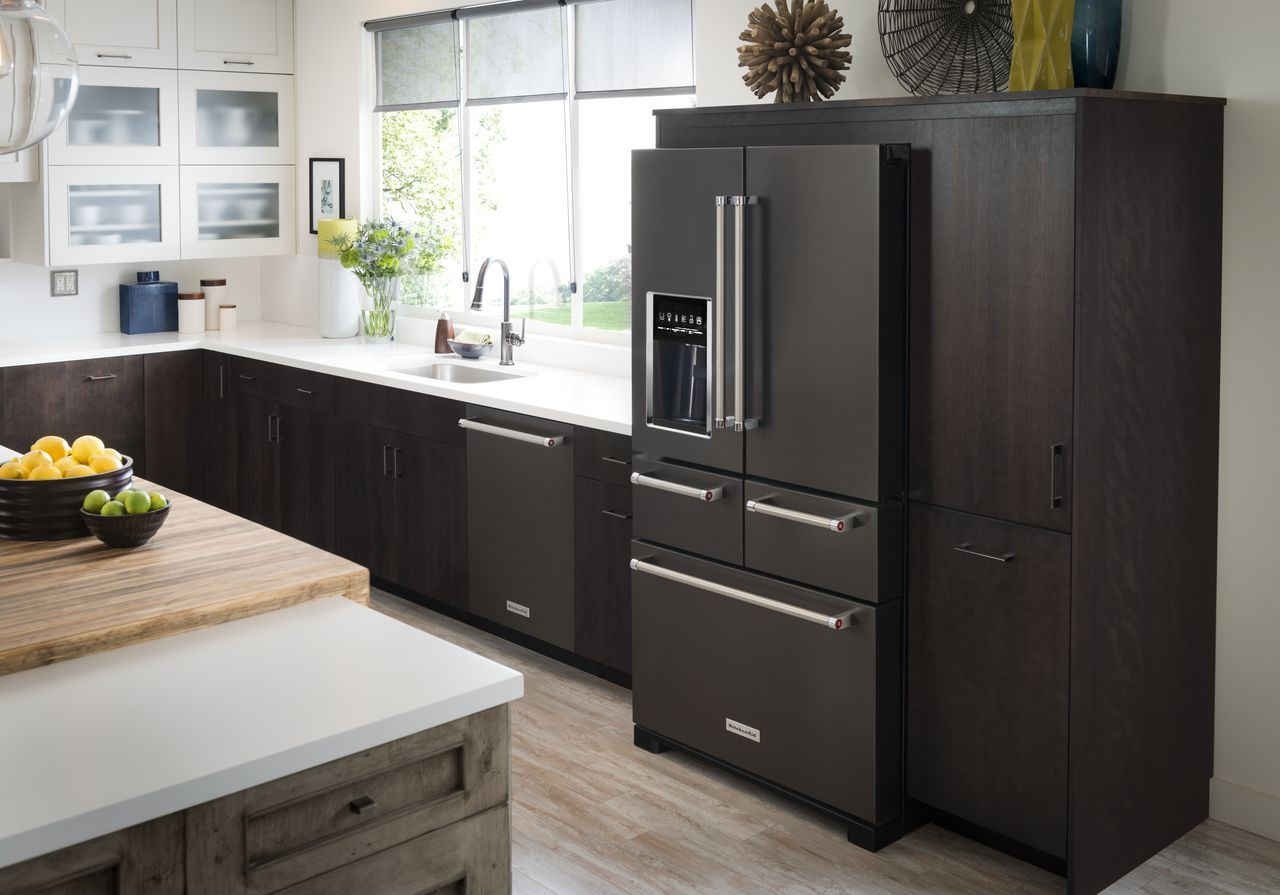 Hot trends in appliance finishes goemans appliances