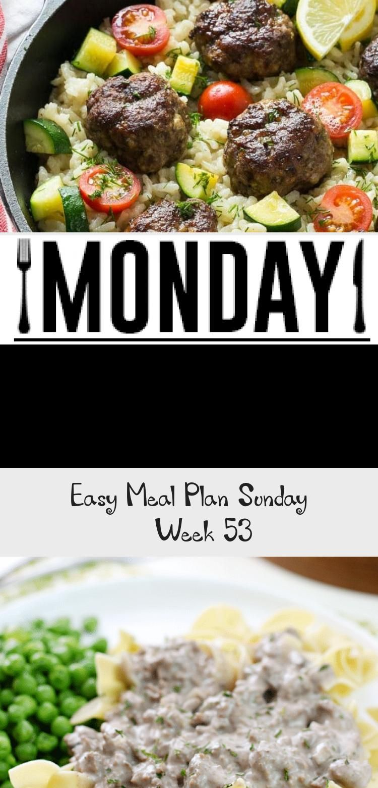 Photo of Easy Meal Plan Sunday – Week 53 #PinataKuchenRegenbogen #PinataKuchenSchoko #P…